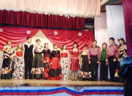 Концерт  в  Борском СДК